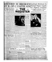 National Catholic Register August 22, 1954