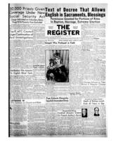 National Catholic Register August 29, 1954
