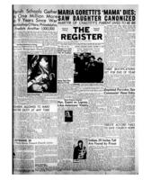 National Catholic Register October 17, 1954