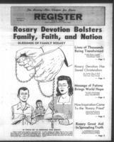 National Catholic Register September 29, 1960: How to Pray the Rosary supplement...