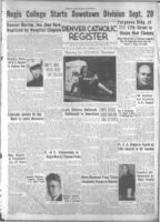 Denver Catholic Register August 9, 1945