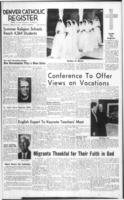 Denver Catholic Register August 20, 1964