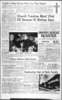 Denver Catholic Register December 3, 1964