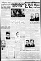 Denver Catholic Register April 14, 1955