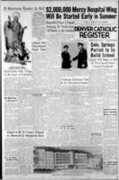 Denver Catholic Register April 15, 1954