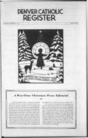 Denver Catholic Register December 11, 1941: Christmas Section