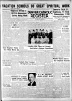 Denver Catholic Register August 7, 1941