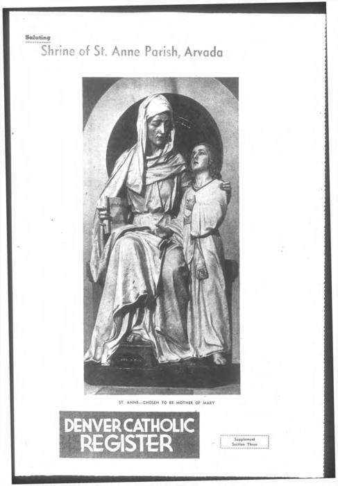 Shrine of St. Anne School special supplement