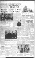 Denver Catholic Register April 13, 1961