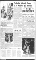 National Catholic Register March 2, 1961