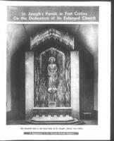 Denver Catholic Register April 27, 1961: St. Joseph's Church Fort Collins, Colorado...