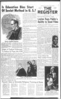 National Catholic Register May 11, 1961