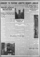 Denver Catholic Register April 16, 1942: Loretto Heights Jubilee Section
