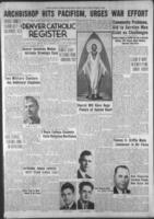 Denver Catholic Register August 6, 1942
