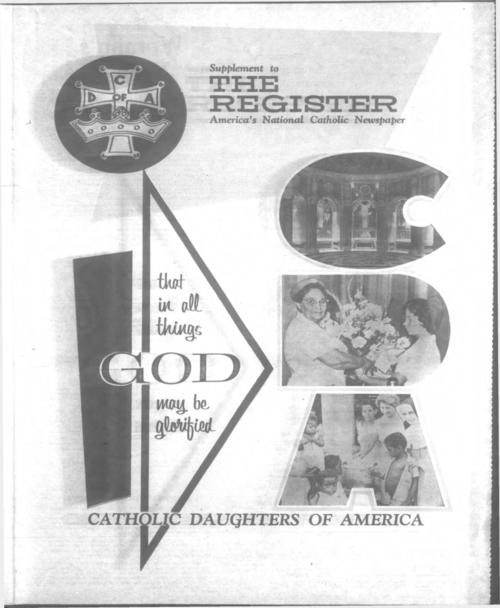 Catholic Daughters of America Supplement