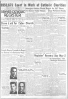 Denver Catholic Register April 29, 1948