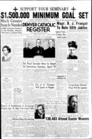 Denver Catholic Register April 16, 1953