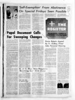 National Catholic Register August 21, 1966