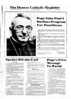 Denver Catholic Register August 30, 1978