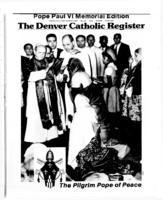 Denver Catholic Register August 11, 1978: Pope Paul VI Memorial Edition