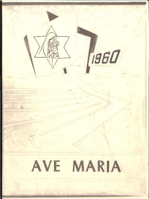 This is a reproduction of the Ave Maria yearbook that was donated to the archives by an alum