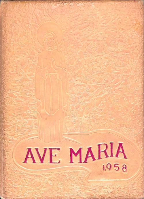 Ave Maria was the yearbook of Our Lady of Mount Carmel High School