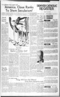 Denver Catholic Register November 14, 1963: National News Section