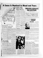 Denver Catholic Register March 18, 1965: National News Section
