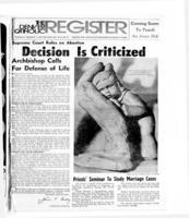 Denver Catholic Register February 1, 1973