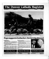 Denver Catholic Register August 28, 1991