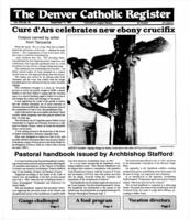 Denver Catholic Register September 11, 1991