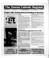 Denver Catholic Register October 9, 1991