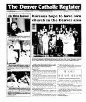 Denver Catholic Register November 6, 1991