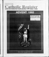 Denver Catholic Register November 25, 1992