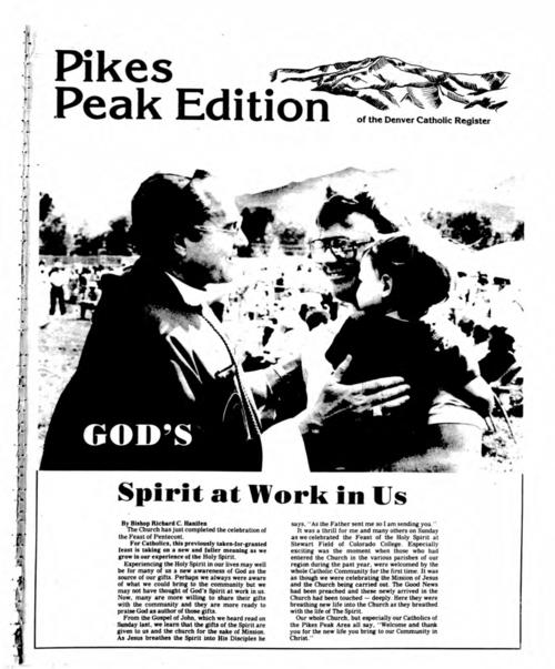 Colorado Springs supplement to the Denver Catholic Register