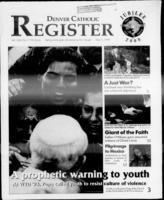 Denver Catholic Register May 5, 1999