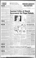 Denver Catholic Register May 7, 1964: National News Section