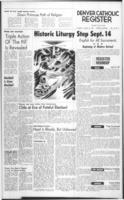 Denver Catholic Register August 27, 1964: National News Section