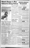 Denver Catholic Register October 22, 1964: National News Section