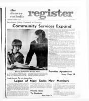 Denver Catholic Register August 10, 1972
