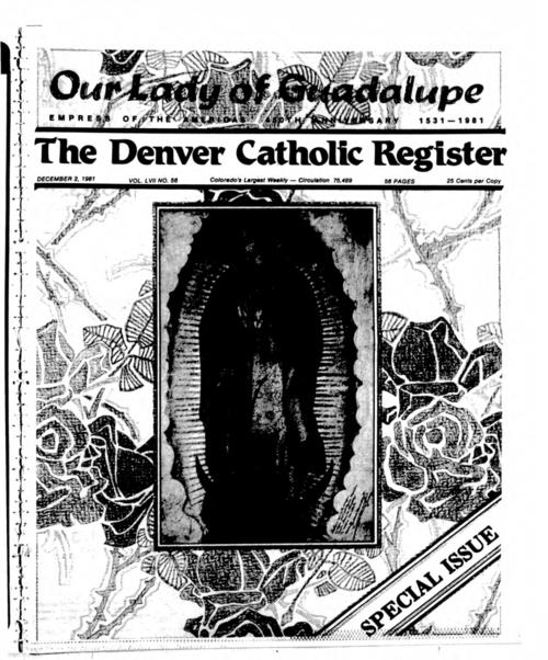 This is the newspaper of the Archdiocese of Denver