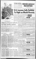 Denver Catholic Register November 12, 1964: National News Section