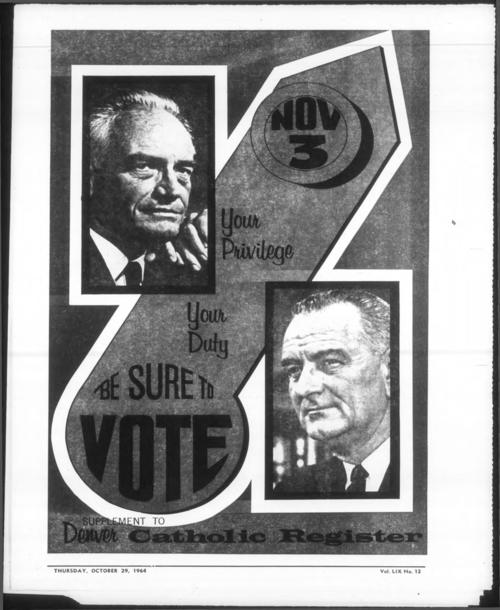 Election supplement to the Denver Catholic Register