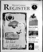 Denver Catholic Register April 15, 1998