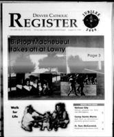 Denver Catholic Register August 12, 1998