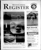 Denver Catholic Register October 28, 1998