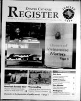 Denver Catholic Register November 4, 1998