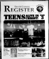 Denver Catholic Register November 18, 1998