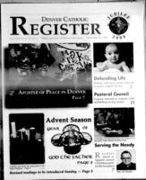 Denver Catholic Register November 25, 1998