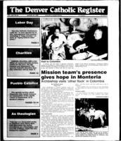 Denver Catholic Register August 29, 1990